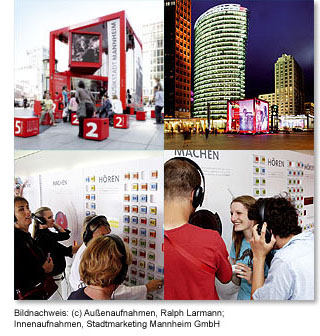 Stadtmarketing Mannheim - Klang der Quadrate